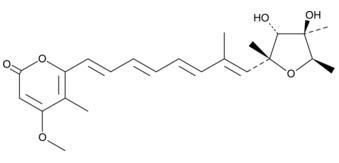 Citreoviridin结构式