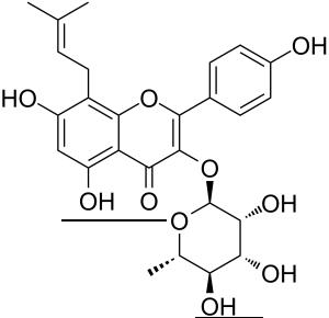 IKarisoside A结构式